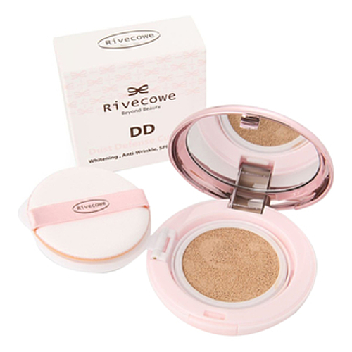 Rivecowe Кушон тональный - Beyond beauty dd dust defense cushion spf50+ ра+++, 13г