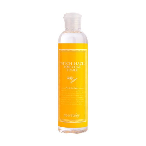 Secret Key Тонер для пор с экстрактом гамамелиса - Witchhazel pore clear toner, 270мл