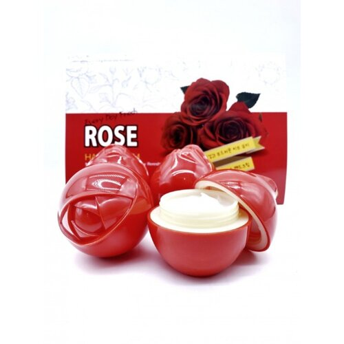 3W Clinic Набор кремов для рук с розой - Rose hand cream, 30г*6шт