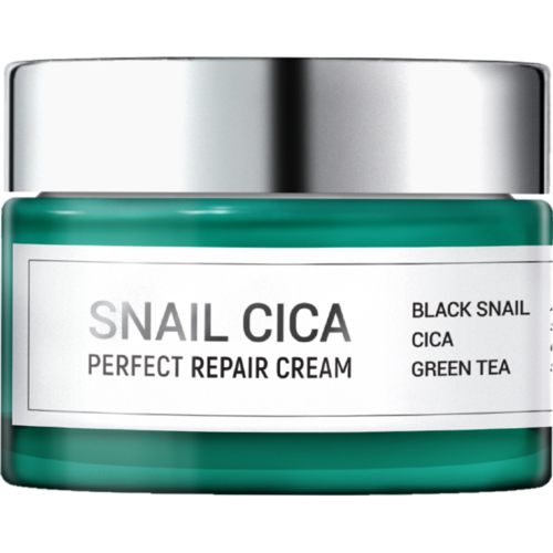 Esthetic House Крем для лица с муцином улитки и центеллы - Snail cica perfect repair cream, 50мл