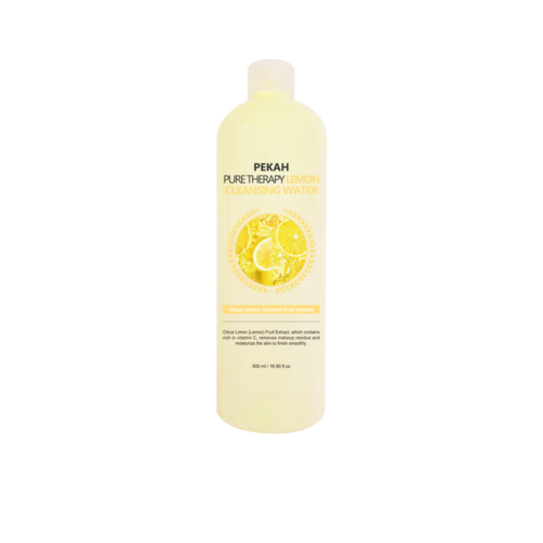 Pekah Вода мицеллярная с экстрактом лимона - Pure therapy lemon cleansing water, 500мл