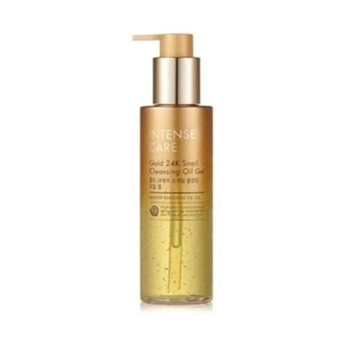 Tony Moly Гель для лица очищающий - Intense care gold 24k snail cleansing gel, 190мл