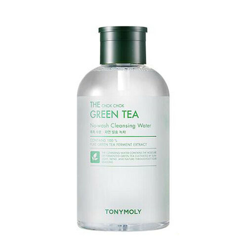 Tony Moly Вода мицеллярная с зеленым чаем - The chok chok green tea cleansing water, 800мл