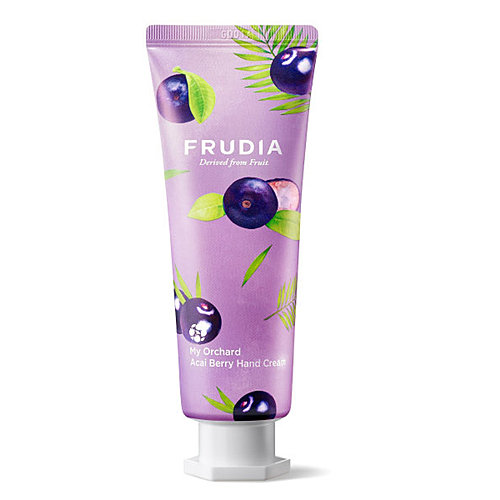 Frudia Крем для рук c ягодами асаи - Squeeze therapy acai berry hand cream, 80г