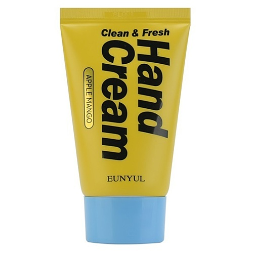 Eunyul Крем для рук с экстрактами и маслами манго - Clean & fresh hand cream, 50мл