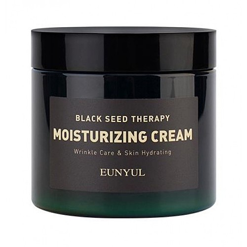 Eunyul Крем для лица с экстрактами семян и аденозином - Black seed therapy moisturizing, 230мл