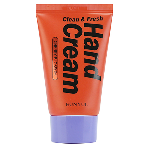 Eunyul Крем для рук с экстрактами и маслами вишни - Clean & fresh hand cream, 50г