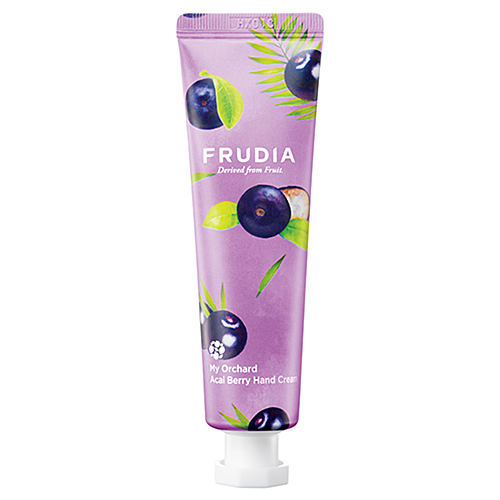 Frudia Крем для рук c ягодами асаи - Squeeze therapy acai berry hand cream, 30г