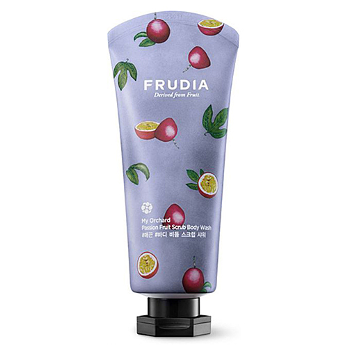 Frudia Скраб для тела с маракуйей - My orchard passion fruit scrub body wash, 300мл
