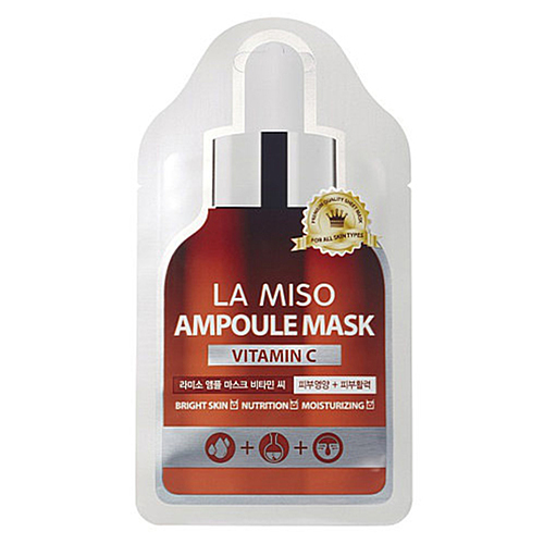 La Miso Маска ампульная с витамином С - Vitamin C ampoule mask, 25г