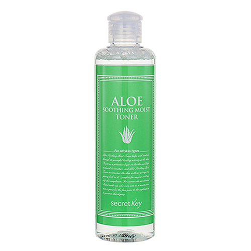 Secret Key Тонер для лица с экстрактом алоэ - Aloe soothing moist toner, 248мл