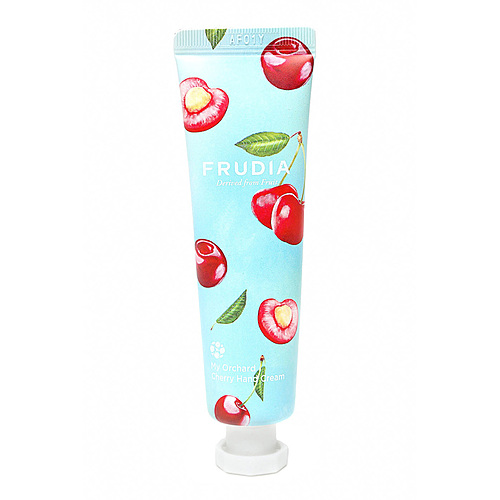 Frudia Крем для рук c вишней - Squeeze therapy cherry hand cream, 30г
