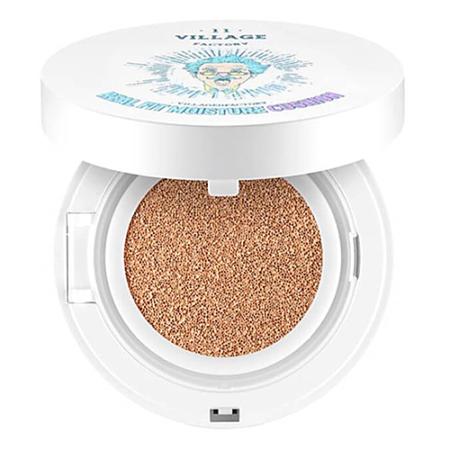 Village 11 Factory Увлажняющий кушон - Real fit moisture cushion SPF50+ PA+++ № 23 Deep Вeige, 15г